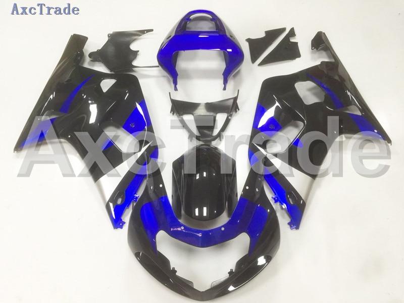 Комплекты мотоцикл Обтекатели для Suzuki GSXR системы GSX-Р 600 750 GSXR600 GSXR750 2001 2002 2003 К1 пластичной Впрыски ABS обтекатель комплект В03