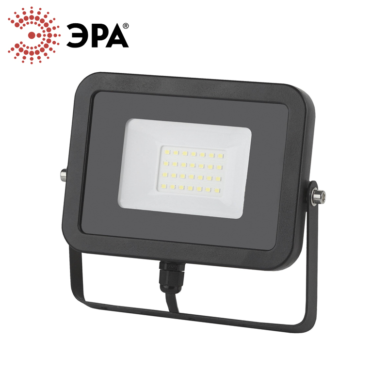 Era LED Floodlight IP65 Projector WaterProof 10W 20W 30W 50W 230V 2700K 4000K 6500K Flood Light Spotlight Outdoor Wall Lamp зимняя шина toyo open country w t 235 60 r16 100h xl н ш green x