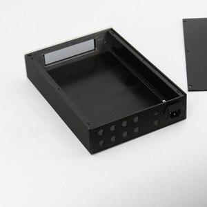 Image 5 - BZ2206A châssis amplificateur de boîtier de préampli en aluminium Mini boîtier dampli HiFi pour carte de Volume de commande à distance JV13