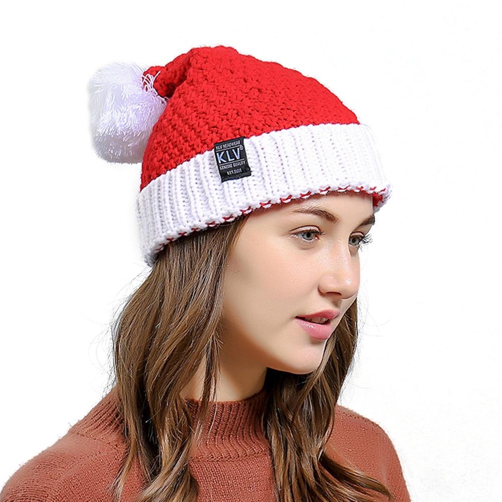 Fashion Cute Christmas Style Crochet Knitted Men Women Beanie Hat Warm Cap Gift