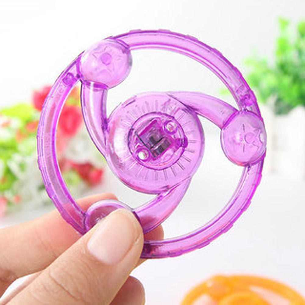 Спиннер-Спиннер светящийся мигающий Тяговый ручной Спиннер антистресс игрушки новинка флеш-гироскоп для детских подарочных игрушек