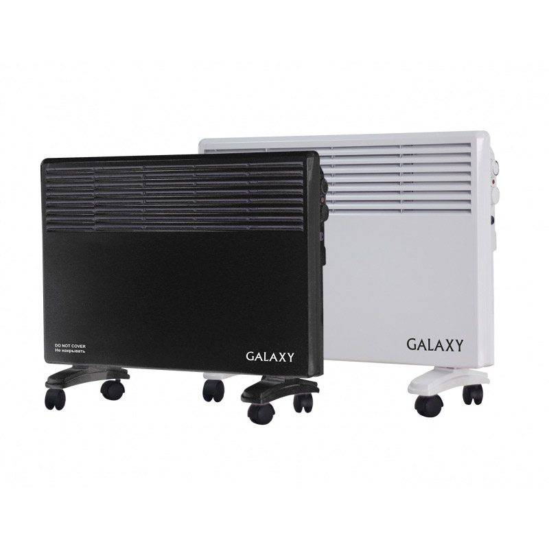 Convection heater Galaxy GL 8228 black galaxy gl 0207 black