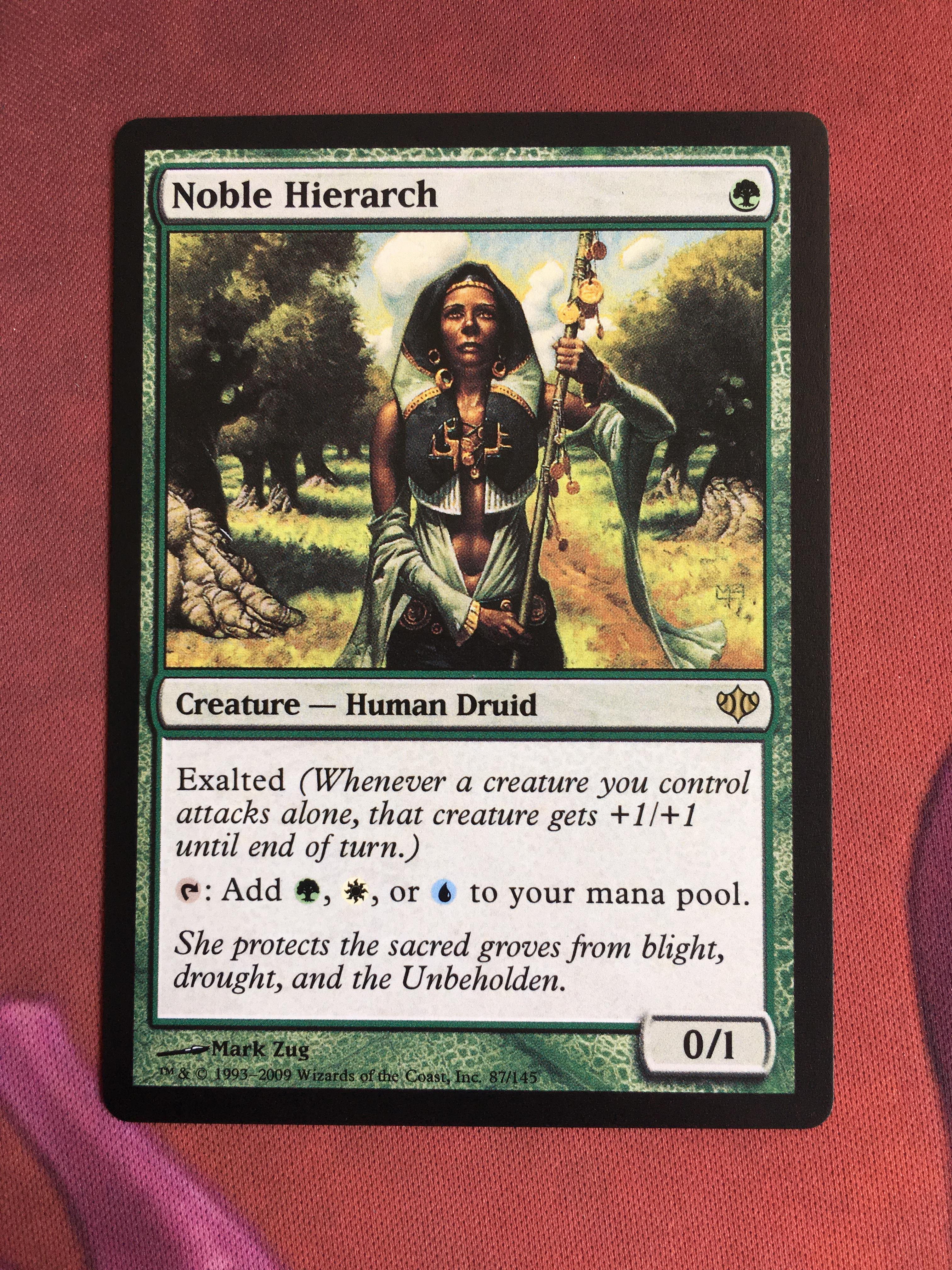 Noble Hierarch Conflux Magician ProxyKing 8.0 VIP The Proxy Cards To Gathering Every Single Mg Card.