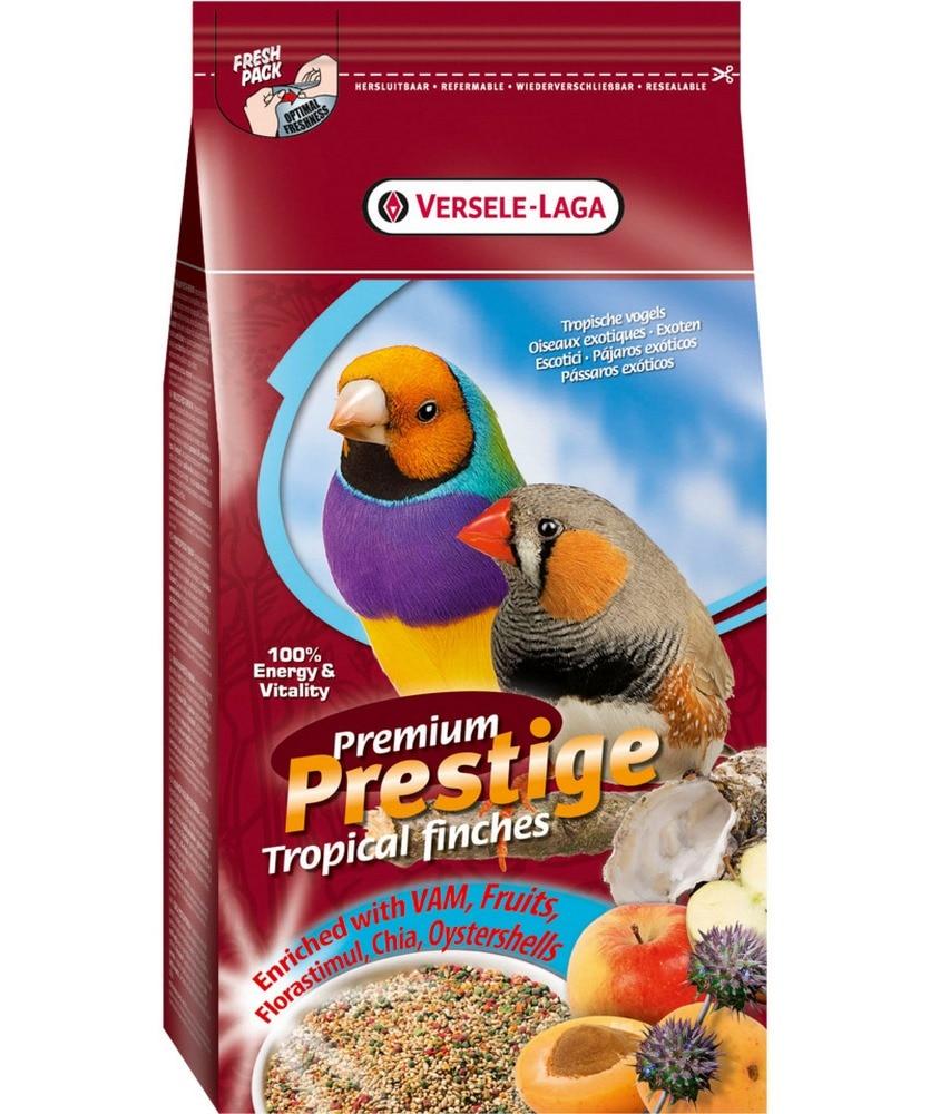 Birds food VERSELE-LAGA Prestige PREMIUM Tropical Finches Exotic Bird Food 1kg