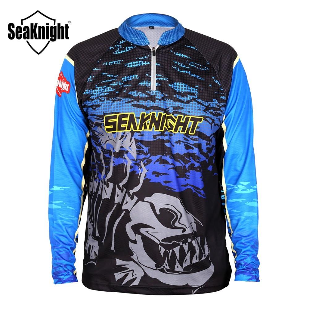 Seaknight fishing clothing sk006 large size l xl xxl xxxl for Uv fishing shirts