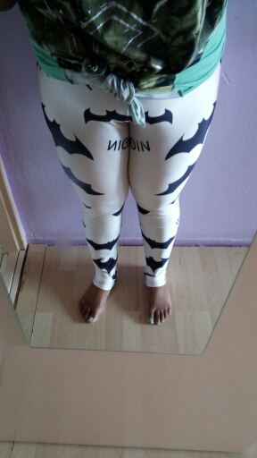 Низкая цена акции Для женщин Фитнес леггинсы Черная Летучая мышь с Высокая Талия белые брюки S-4XL тренировки брюки