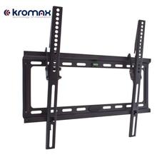 ТВ кронштейн Kromax IDEAL-4(Наклонный, сталь, диагональ экрана 22-65 дюймов/56-165 см, макс нагрузка 50 кг, наклон 0-10 градусов, расстояние от стены 23 мм