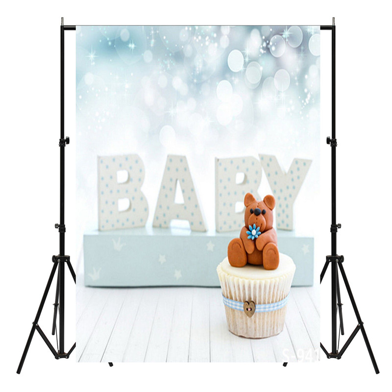 150X90cm Blue Baby Studio Photo Backdrop Photography Background Cloth Photo Props Newborn Babies Birthday Party Events Supplies customize home decoration photography backdrop studio background cartoon baby kid party birthday photo background g 073