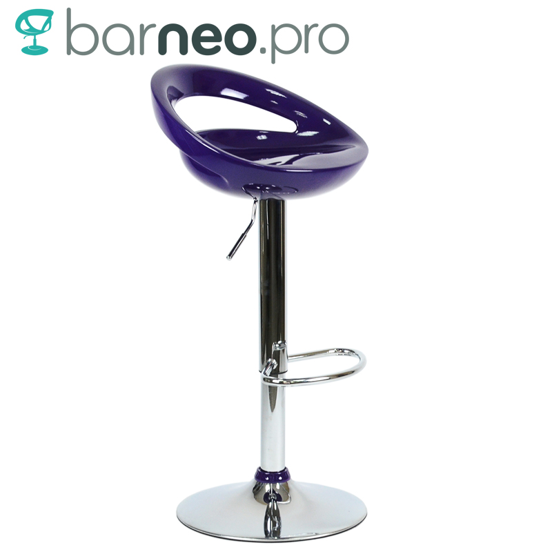 Stupendous Us 49 44 94965 Barneo N 6 Plastic High Kitchen Breakfast Bar Stool Swivel Bar Chair Aubergine Free Shipping In Russia In Bar Stools From Furniture Creativecarmelina Interior Chair Design Creativecarmelinacom