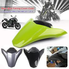 Motorcycle Seat Covers Rear Pillion Seat Cowl Hump Tail Fairing Cover For 2017 2018 Kawasaki Z900 ABS Z 900 Accessories Parts motorcycle seat cowl rear passenger cover for kawasaki z900 z 900 2017 2018 motor abs accessories rear seat cover cowl