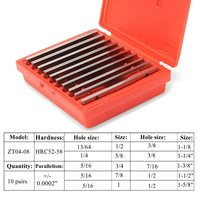 20PCS 1 8 Inch Ultra Thin Steel Parallel Set PRECISION 0 0002 Inch Milling Machinist High