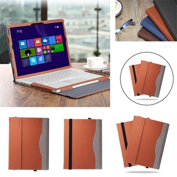 "Detachable PU Leather Cover For Microsoft Surface Book2 15"" 2017 Luxury Cover For Microsoft Surface Book2 15"" 2017 Tablet Case"