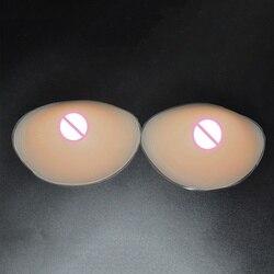 섹시한 여성 실리콘 브래지어 삽입 유방 절제술 유방 패드 넥 밀어 브래지어 삽입 유방 증강 삽입 드레스 수영복