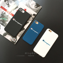 For iphone 5 5s se 6 6plus 6s plus 7 8 X 7plus Matte hard PC phone cover fitted case Japan champion brand exquisite cases