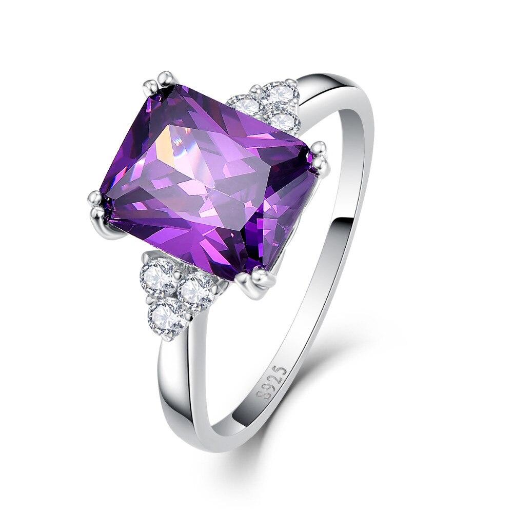 UTB8Cr6mcmbIXKJkSaefq6yasXXau BONLAVI 5.25ct 8*10mm Amethyst Brand Jewelry Ladies 925 Sterling Silver Square Rings High Quality Engagement Ring Size 5-10