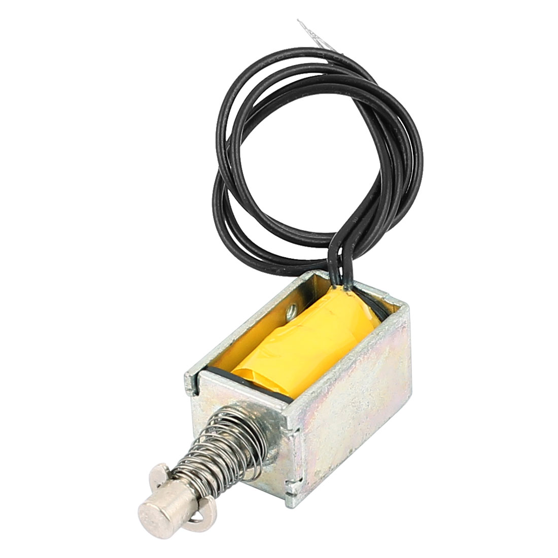 цена на UXCELL Hto-0420L3v06 3V 0.5A Pull Type Open Frame Actuator Electric Solenoid Electromagnet