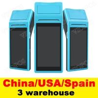 V1 POS Terminal PDA Mit Wireless Bluetooth & Wifi Android System mit Thermische Drucker Gebaut in und Barcode Scanner-in Scanner aus Computer und Büro bei