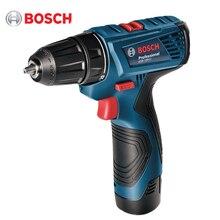Дрель-шуруповерт аккумуляторная Bosch GSR 120-LI (напряжение 12 В, 2 скорости, защита от перегрева, Li-Ion батарея, Максимальный крутящий момент 30 Нм, подсветка)