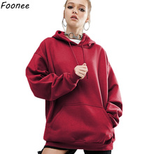 Oversized Hoodies Women 2018 Spring Autumn Fashion Batwing L