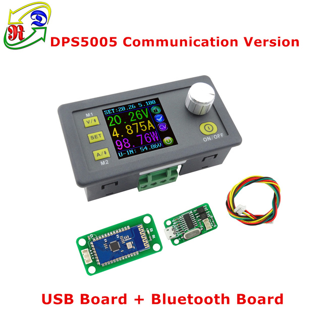 RD dps5005 Связь Функция постоянной Напряжение ток Шаг вниз Питание понижающий Напряжение преобразователь вольтметр 50 В 5A