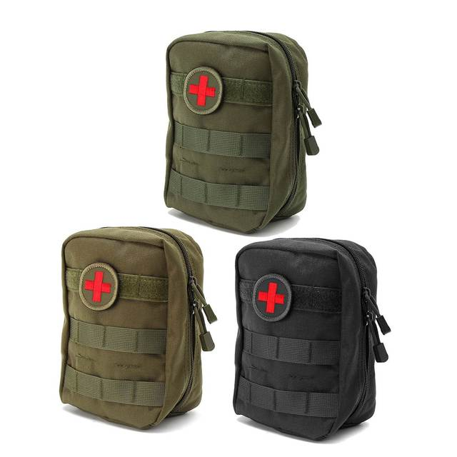 Back To Search Resultssports & Entertainment Camping & Hiking Tactical First Aid Bag Dacron Small Mesh Drawstring Bag Outdoor Emergency Military Camping Hiking Safety And Survival Kits