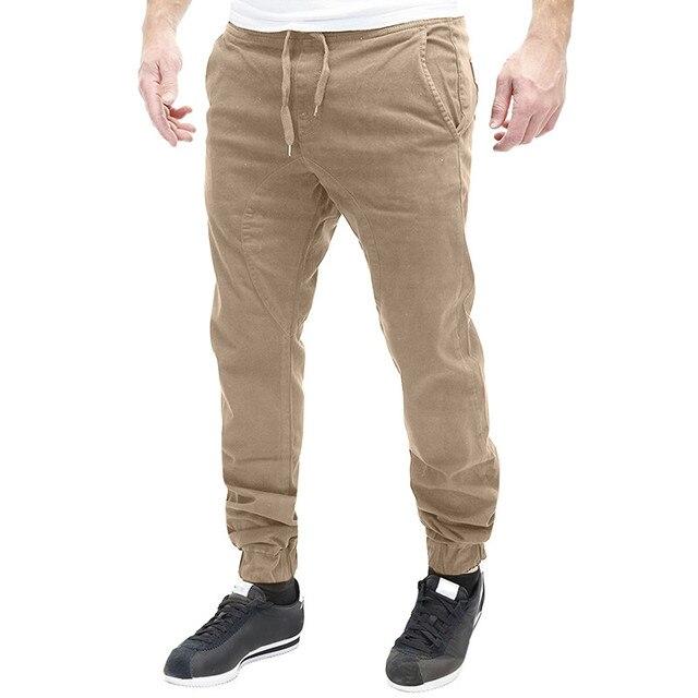 INCERUN 2018 Homens Calças Chinos Harem Pants Plus Size Causal Para Os  Homens do Hip Hop 86646e6b806