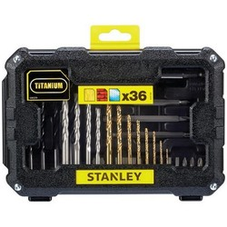 Стэнли STA7222-XJ-set аксессуары 36 штук для сверла и винта