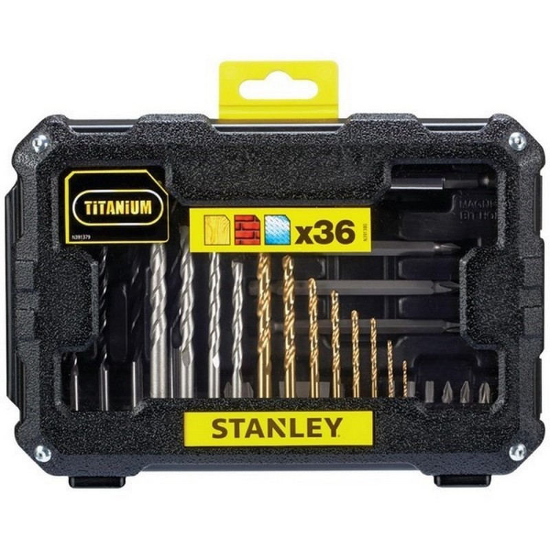 STANLEY Stanley STA7222-XJ-set Accessories 36 Pieces For Drill And Screw In