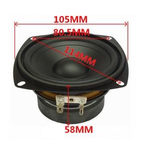 Image 3 - Tenghong 1pcs 4 Inch Waterproof Midrange Woofer Speaker 4/8Ohm 30W Outdoor Bathroom Lawn Audio Bass Speaker Unit Loudspeaker