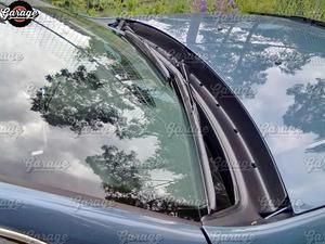 Image 2 - משמר כיסוי ז בו עבור רנו/Dacia הדאסטר 2010 2017 תחת שמשה קדמית ABS פלסטיק אביזרי מגן רכב סטיילינג כוונון