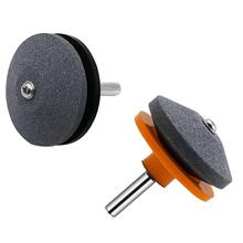 Lawn mower blade grinding tools sharpener faster Easy use Universal Rotary Power drills sigle layer