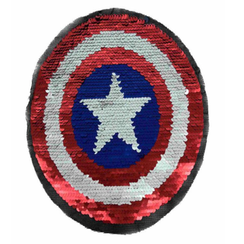 SEQUIN CAPTAIN AMERICASEQUIN CAPTAIN AMERICA