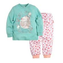Пижама джемпер+брюки BOSSA NOVA для девочек 356b-361