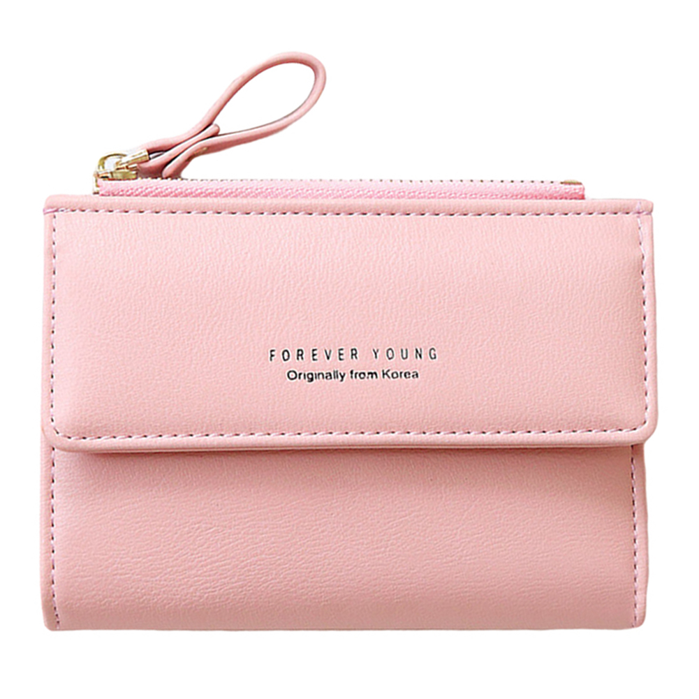 цены Women RFID Blocking Short Wallets PU Leather Woman Fashion Wallet Female Small Purse Women's Wallets and Purses Card Holder Bag