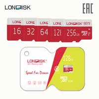 Memory card LONDISK EXTREME 256 GB 128 GB 64 GB 32 GB 16 GB Class 10 U3 microSDHC UHS I (without adapter)