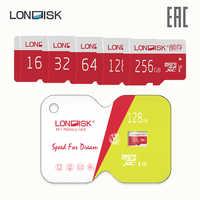 Speicher karte LONDISK EXTREME 256 GB 128 GB 64 GB 32 GB 16 GB Class 10 U3 microSDHC UHS-I (ohne adapter)