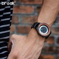 BREAK Fashion Casual Man Wristwatches Unique Design Photographer Series Men Women Unisex Brand Watchs Sport Rubber