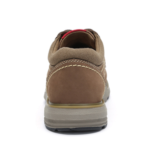 Image 3 - CAMEL New Genuine Leather Mens Shoes Tooling  Fashion Outdoor Casual Shoes Cowhide Rhubarb Shoes Man Stitching Quality Boots