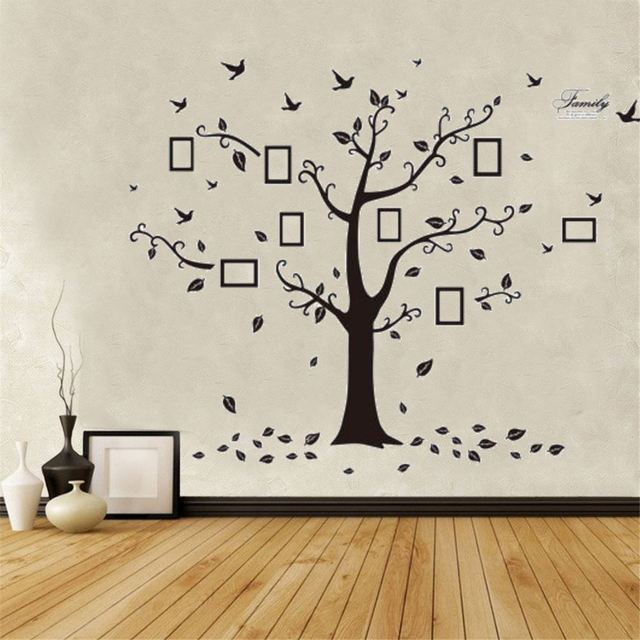 Moderno Marco De La Pared Foto árbol Galería - Ideas de Arte ...