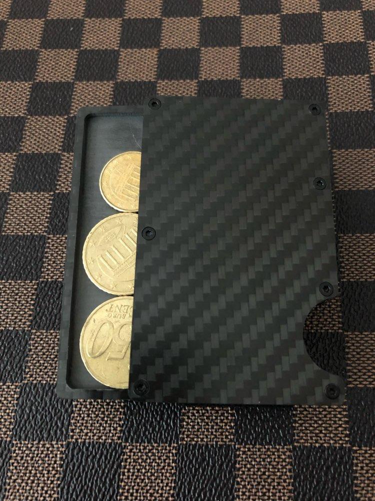 Porta Documento e Cartões Cavidade Cavidade Carbono