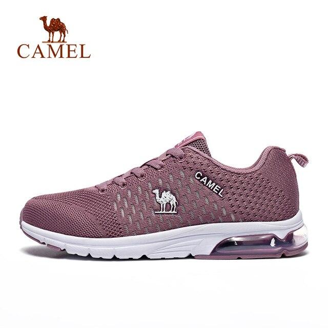 CAMEL Для женщин кроссовки обувь с дышащей сеткой удобная спортивная обувь спортивные упражнения Training спортивная обувь