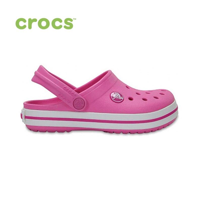 цена CROCS Crocband Clog K KIDS or boys/for girls, children, kids TmallFS shoes онлайн в 2017 году