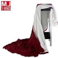 New Hot Cashmere Crystal Velvet Mink Blanket Brand Adult Spring Autumn Thick Warm Blankets Super Soft