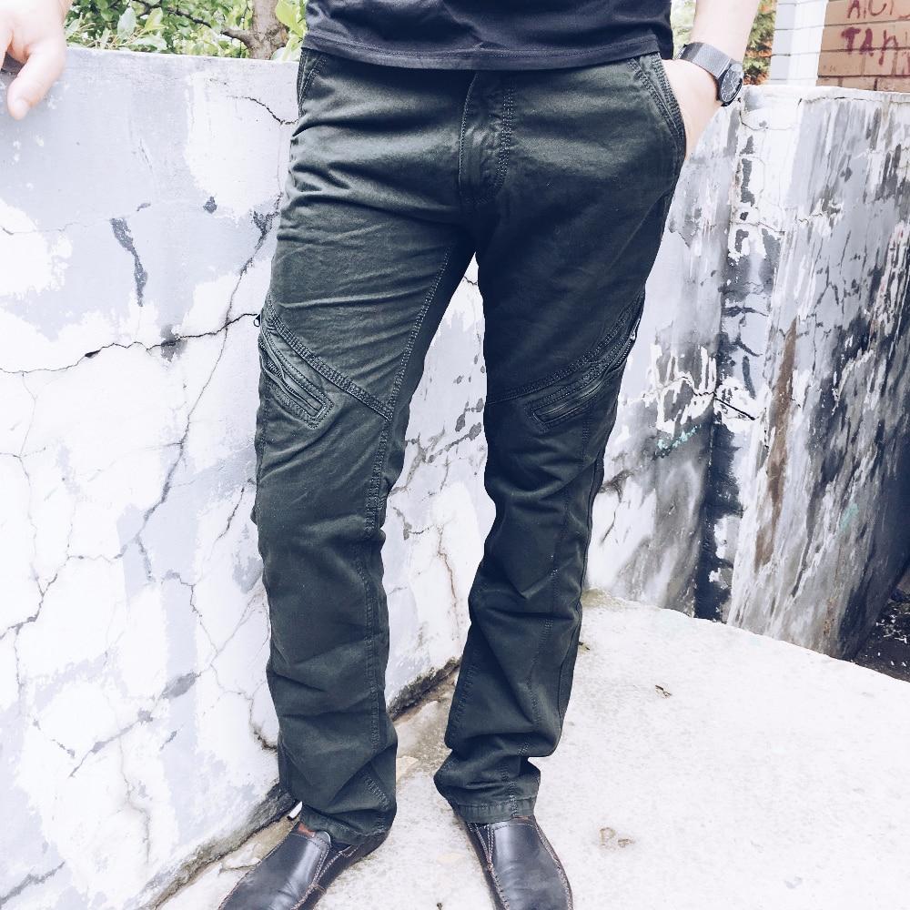 Мужские хлопковые брюки с Алиэкспресс