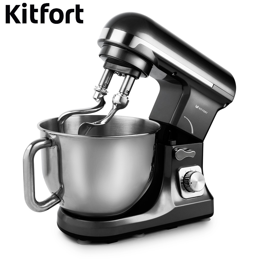 Food Mixer electric kitchen KITFORT KT-1343 Cocktail shaker mixers Planetary mixer Dough Mixer with bowl Kitchen machine single handle brass mixer tap waterfall kitchen sink faucet