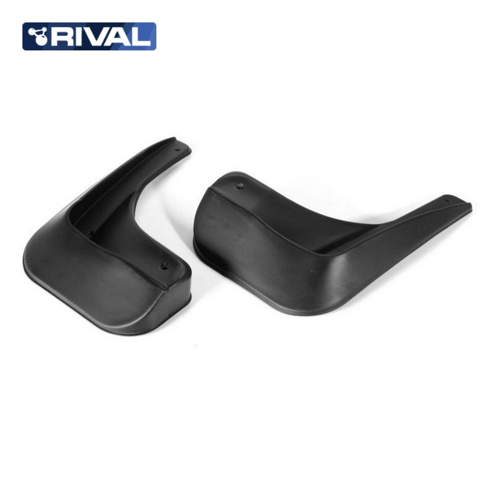 For Nissan Almera G15 2013-2019 rear mudguards 2 pcs/set Mud Flaps Splash Guard high quality Rival 24101002 car mud flaps splash guard 4pcs plastic for bmw x5 e70 2008 2013