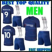 2018 2019 Chelseaes Adluts Sets soccer Jerseys camisetas shirt survetement mans Football shirt. free shipping