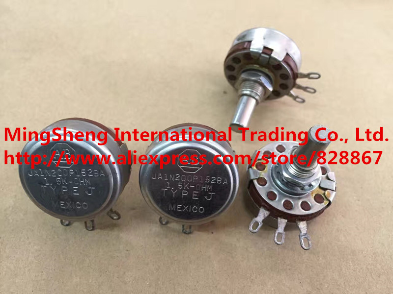 Quality assurance JA1N200P152BA 1.5K single potentiometer (SWITCH) цена