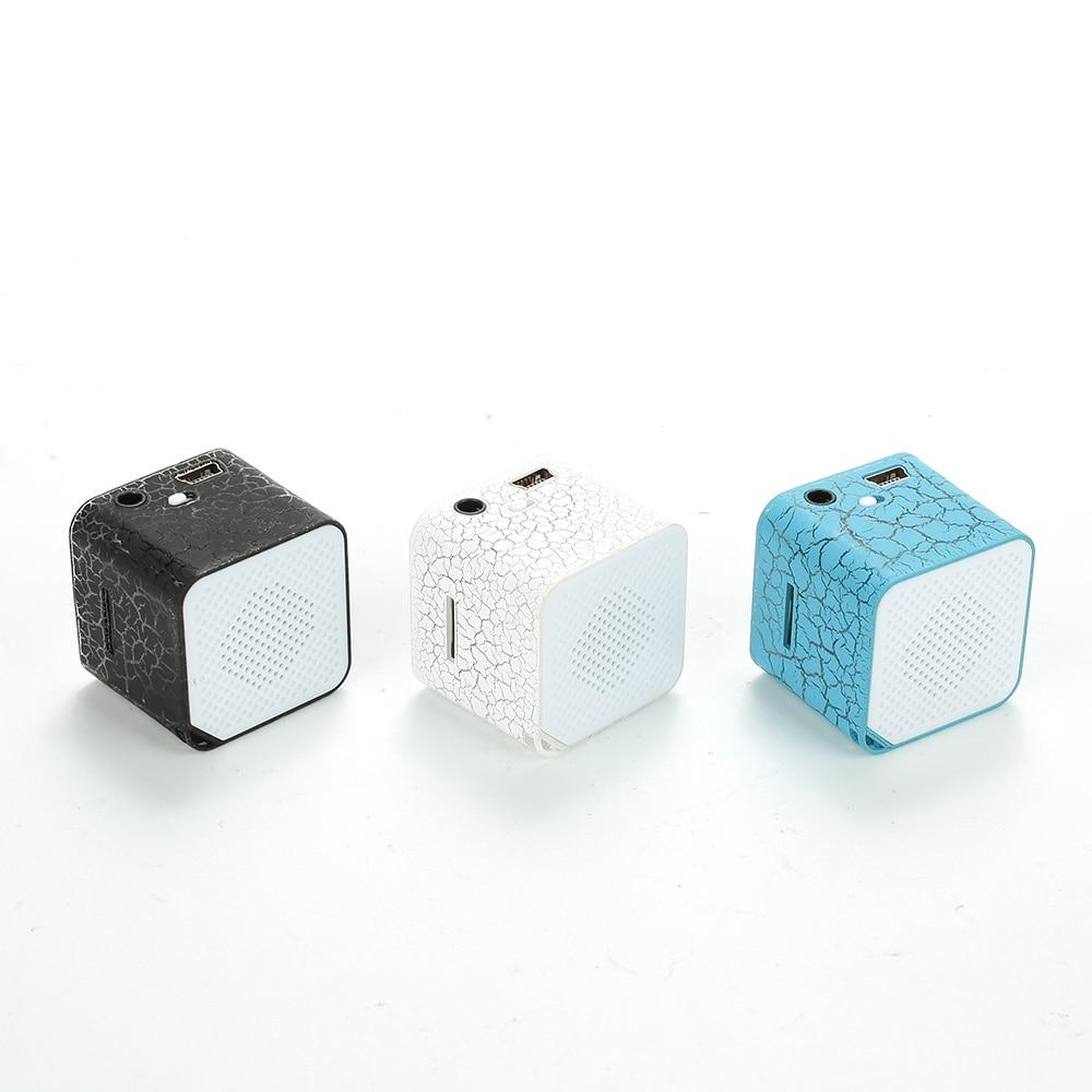 Bluetooth Speaker Mini Wireless Loudspeaker Crack LED TF USB Subwoofer Speakers Mp3 Stereo Audio Music Player