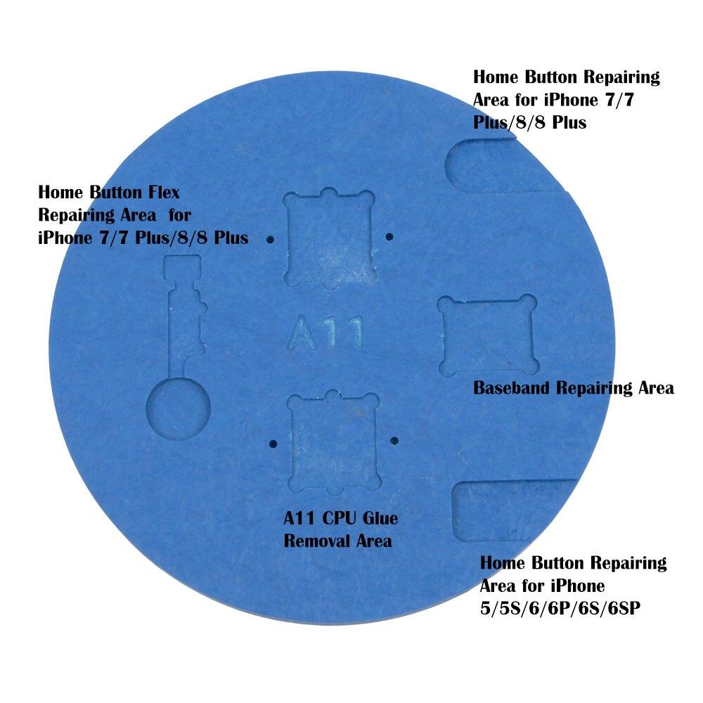 Microscope Fingerprint repair Rubber seat Dedicated Use Home